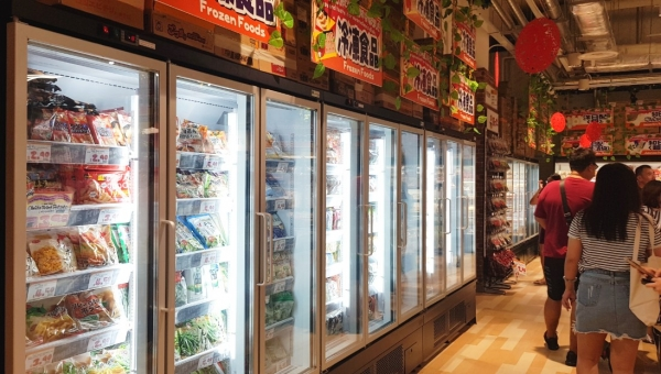 Don Don Donki City Square Mall D-Logic Refrigeration Project 2018