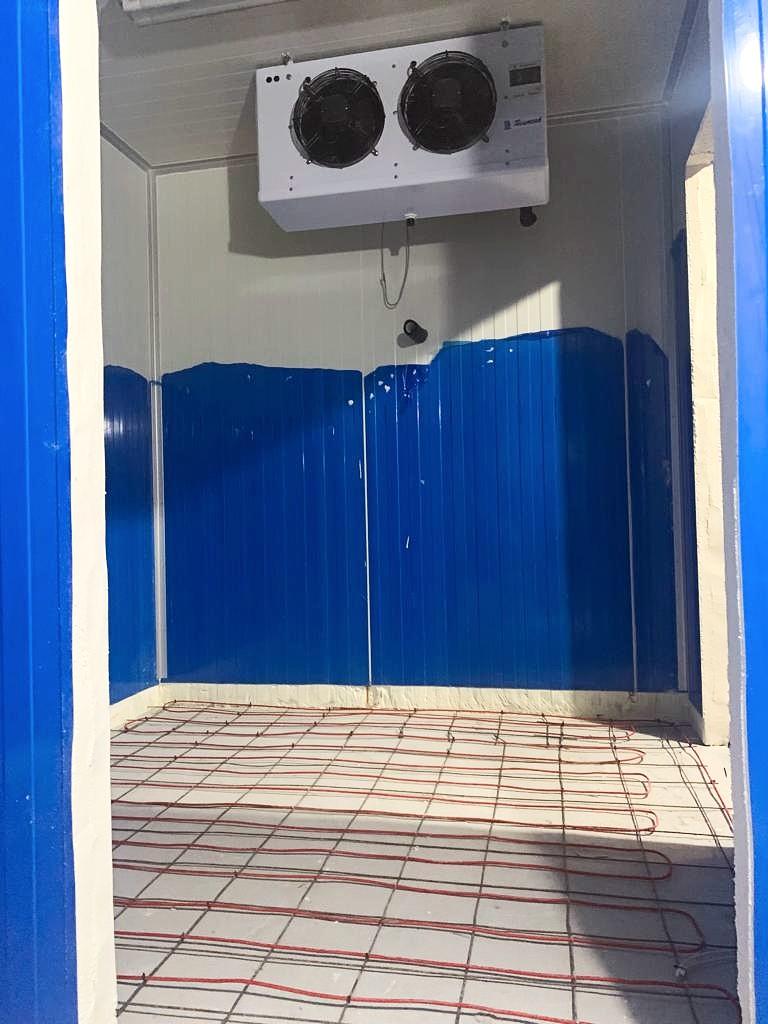 Cold Room Building in Progress D-Logic Refrigeration