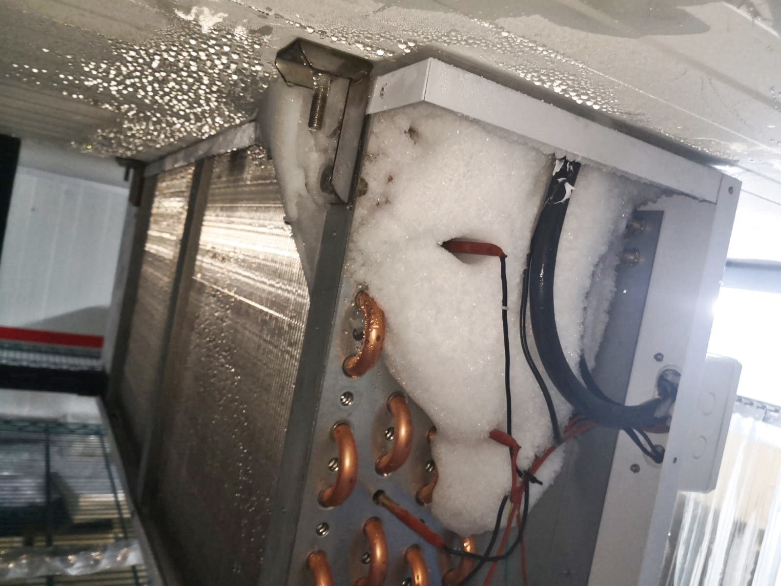 Freezer cold room Air-blower icing
