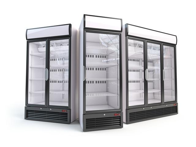 Single Door, 2 Door and 3 Door Display Chiller and Freezer